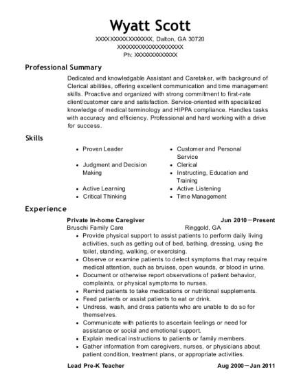 Best Lead Pre K Teacher Resumes | ResumeHelp