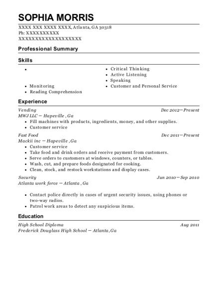 Resume help and atlanta