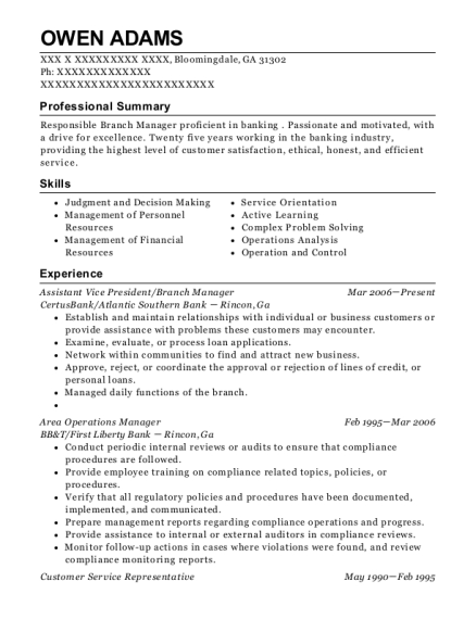 lowes companies area operations manager resume sample