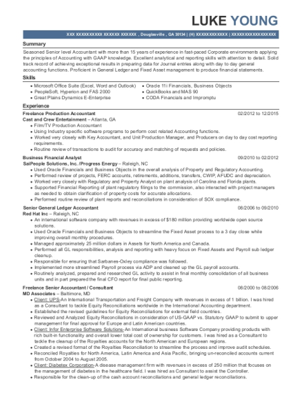 general ledger accountant resume - Etame.mibawa.co