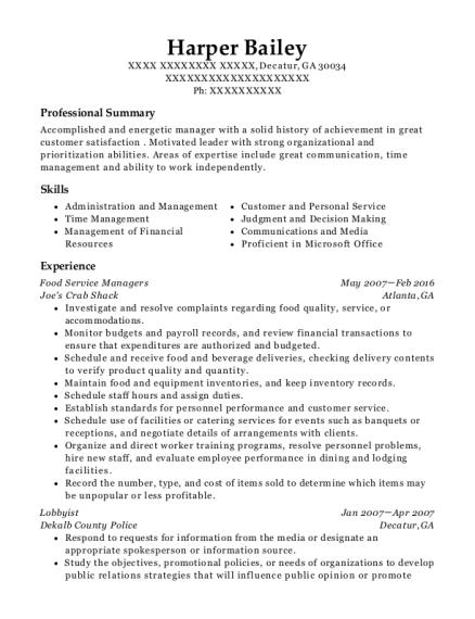 best lobbyist resumes resumehelp