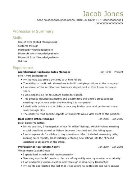 best real estate office manager resumes resumehelp