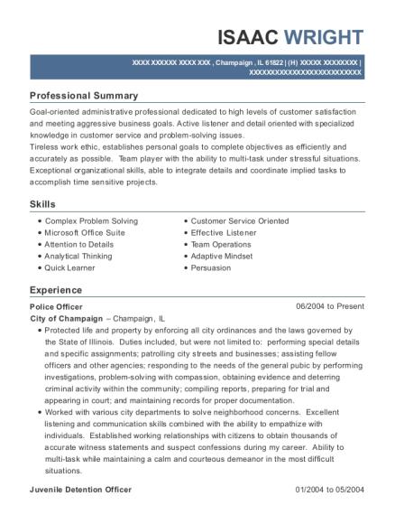 Juvenile Probation Officer , Juvenile Detention Officer. Customize Resume ·  View Resume