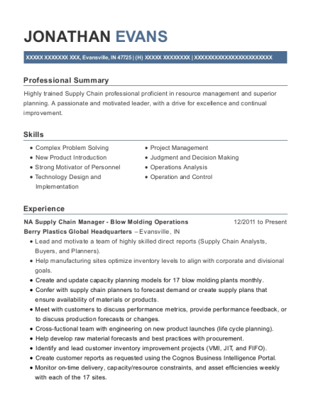 bedford reinforced plastics mold operator resume sample