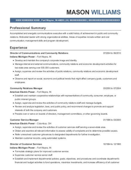 Best Area Operations Manager Resumes | ResumeHelp