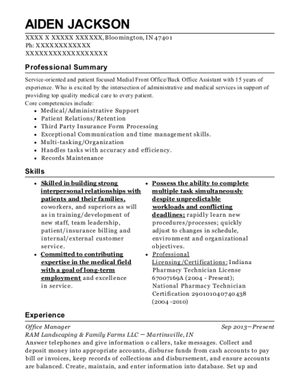 Express Scripts Prior Authorization Representative Resume