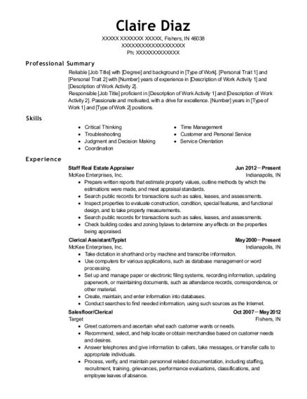 Diversco Sanitarian Resume Sample - Laurel Maryland | ResumeHelp