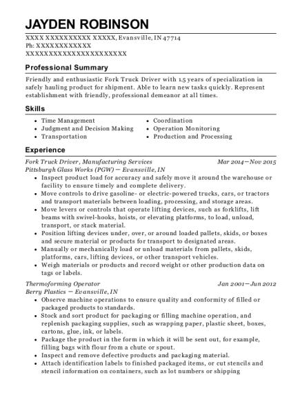 Resume Services Fresno