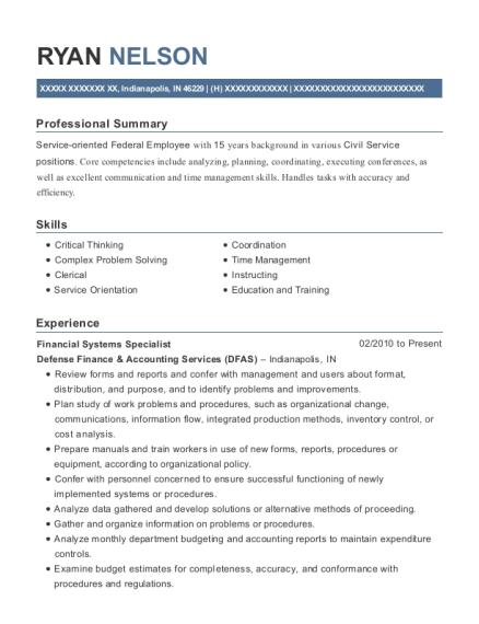 Best Civilian Pay Technician Resumes ResumeHelp