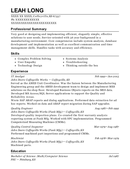 Best Quality Engineer Resumes | ResumeHelp