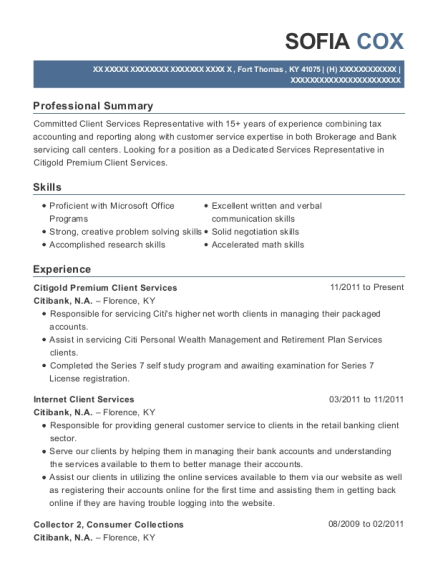 customer service specialist resume