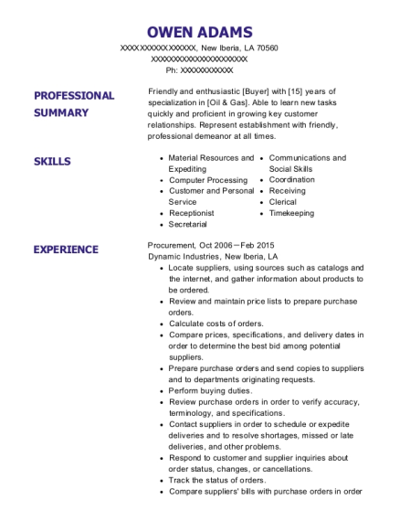 Best Procurement Resumes | ResumeHelp