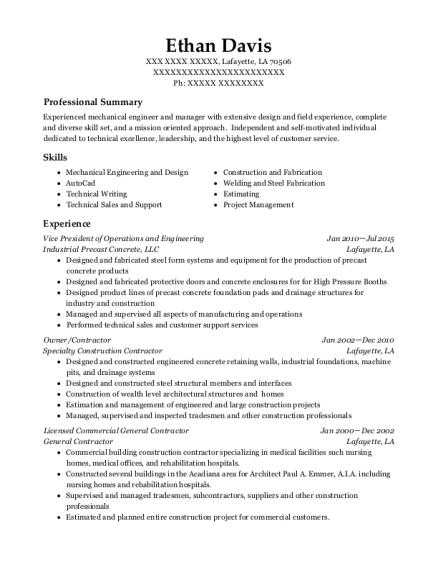 Best Vice President Of Operations And Engineering Resumes | ResumeHelp