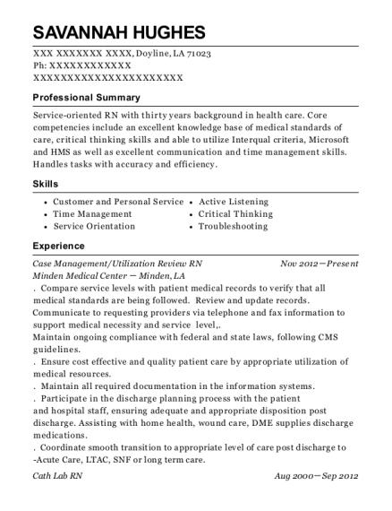 medstar harbor hospital utilization review rn resume sample