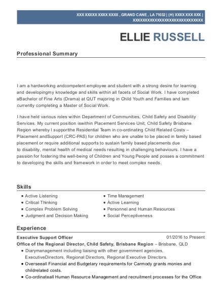 Best Corporate Support Officer Resumes   ResumeHelp