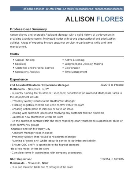 Best 2nd Assistant Resumes   ResumeHelp