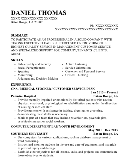 Best Correctional Officer/mounted Officer Resumes | ResumeHelp
