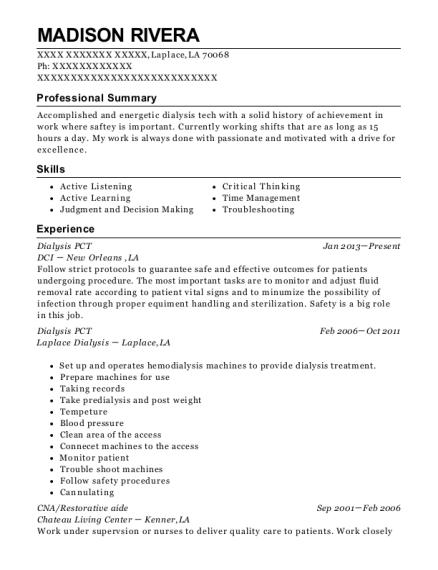 Madison Rivera  Pct Resume