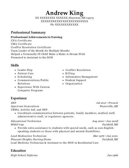 Best Educational Technician Resumes | ResumeHelp