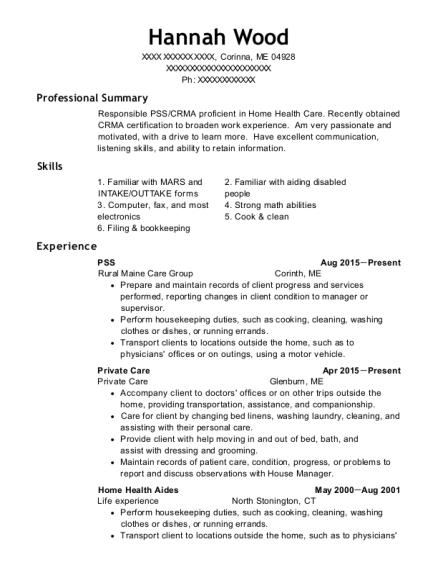 Best Pss Wps Resumes | ResumeHelp
