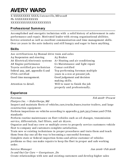 Chipotle Mexican Grill Service Manager Resume Sample - Mesa Arizona ...