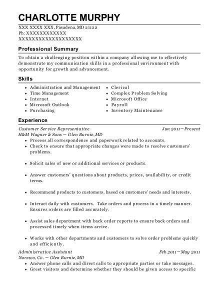 purchasing assistant resumes