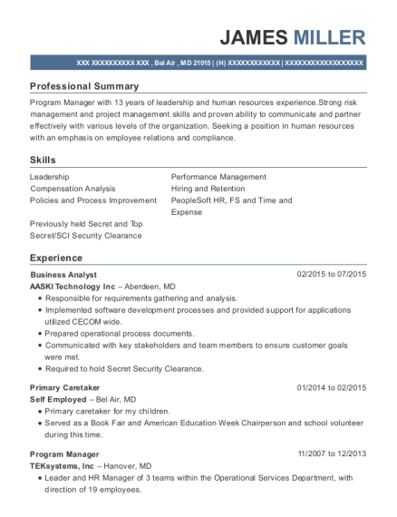 best business operations associate resumes resumehelp