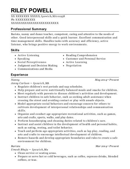teachers assistant resumes