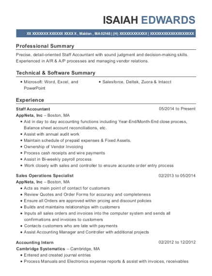 best accounting intern resumes resumehelp