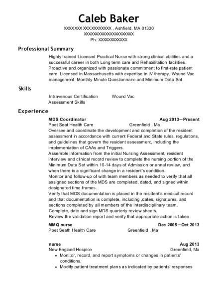 Best Mds Coordinator Resumes Resumehelp