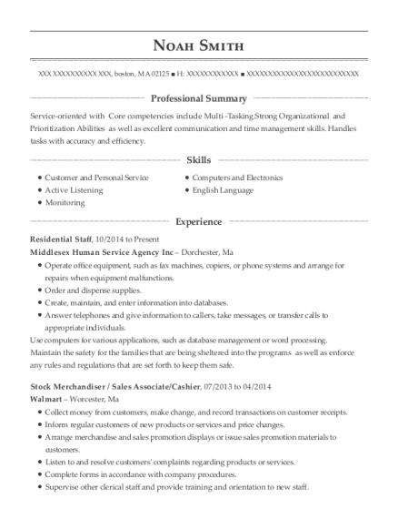 best sales associate resumes in boston massachusetts resumehelp