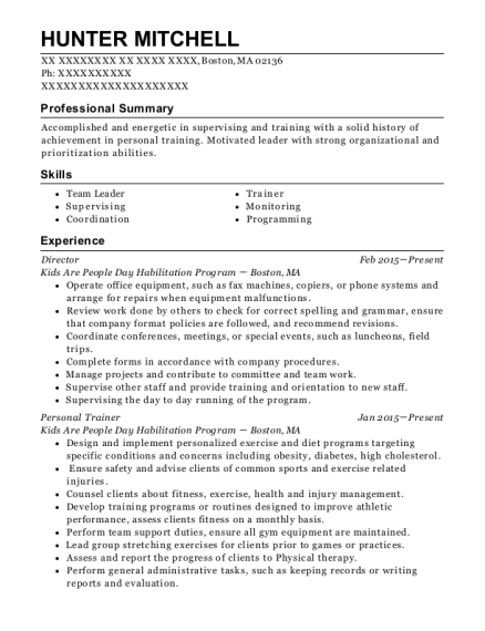 best director resumes in boston massachusetts resumehelp