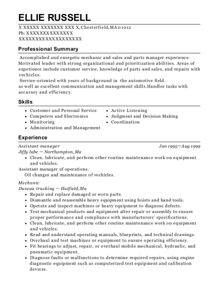 Best Head Pizza Cook And Manager Resumes | ResumeHelp