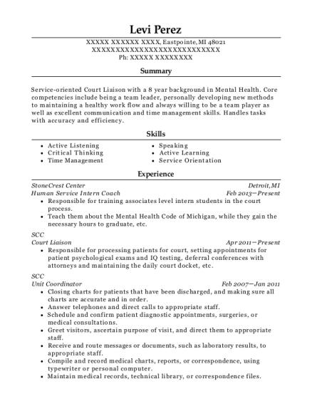 Best Unit Coordinator Resumes | ResumeHelp