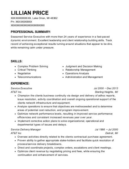 Best Service Delivery Manager Resumes | ResumeHelp
