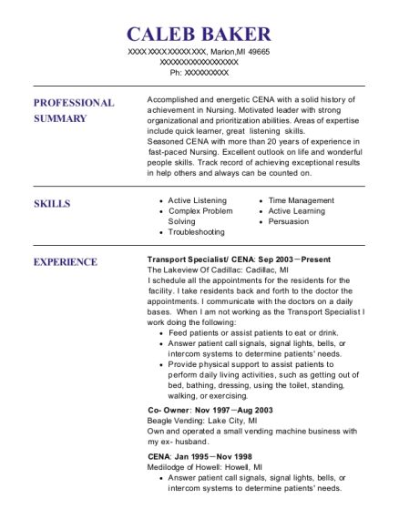 Transport Specialist , Qmap. Customize Resume · View Resume