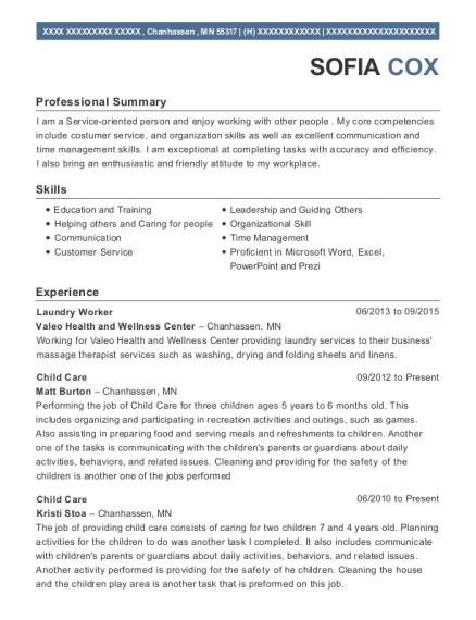 Best Children Ministry Volunteer Resumes | ResumeHelp