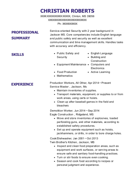 tunstall construction demolition worker resume sample upper