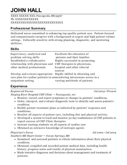 best pcu nurse resumes