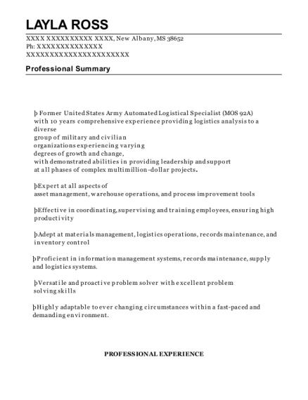 best materials control specialist resumes resumehelp - Inventory Specialist Resume