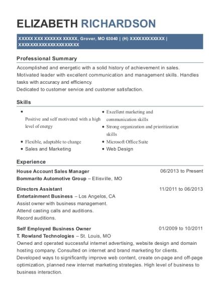 Best Self Employed Business Owner Resumes   ResumeHelp