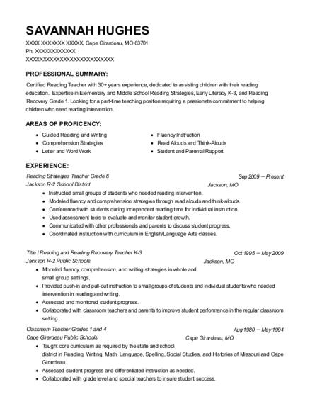 Best Grade 1 Resumes   ResumeHelp