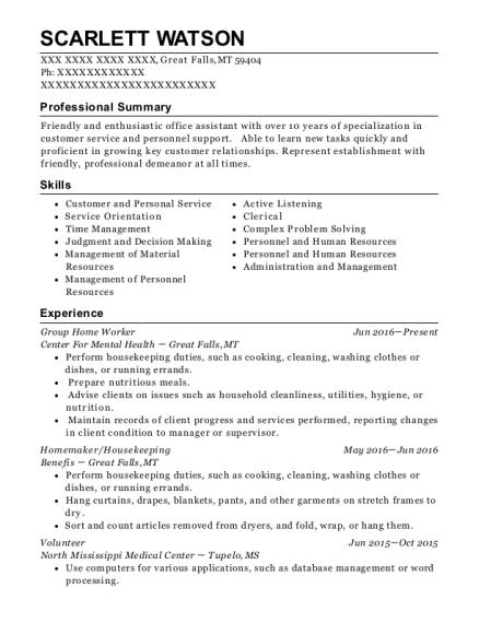 Best Group Home Worker Resumes | ResumeHelp