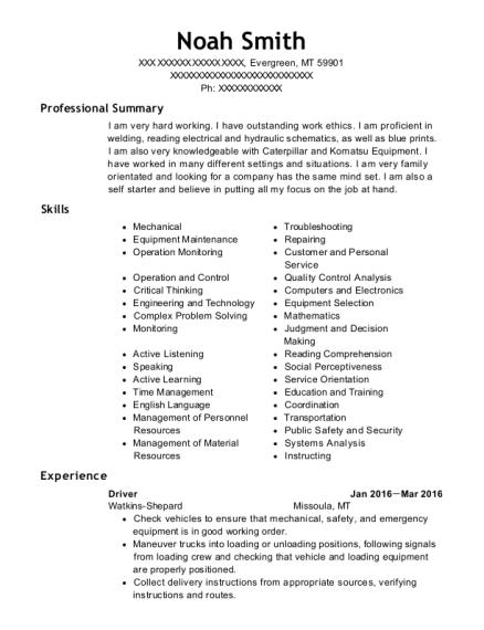 Best elevator mechanic resumes resumehelp view resume malvernweather Images