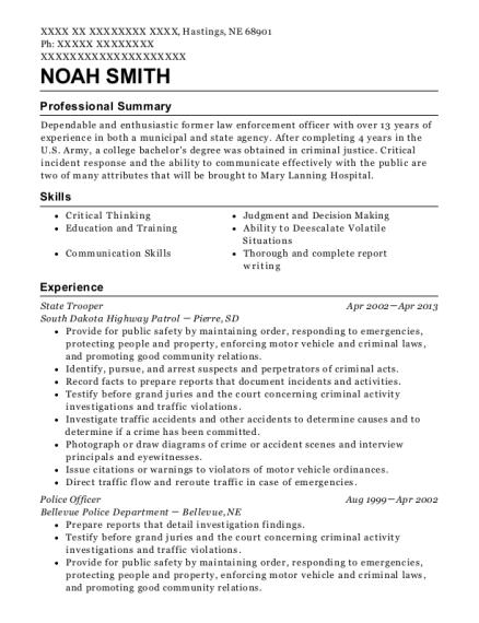Resume help ohio state
