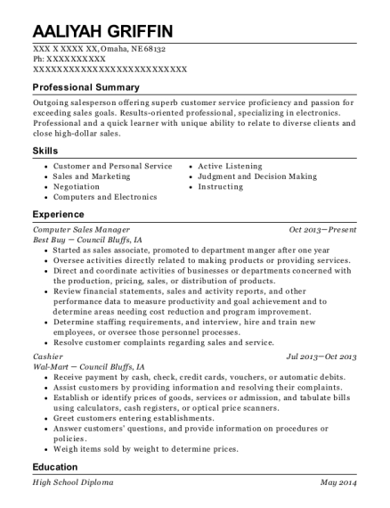 Unique Best Buy Manager Resume Photo - Best Resume Examples by ...