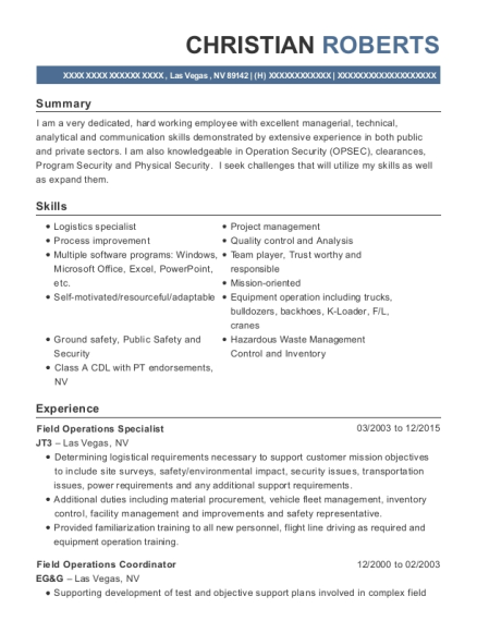 Operations Coordinator Resume Image collections - resume format ...
