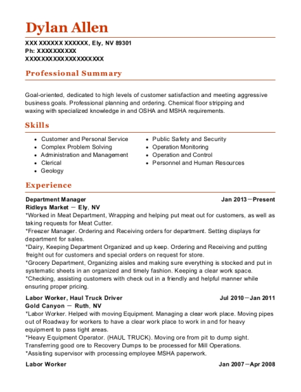 Best Head Janitorial Supervisor Resumes