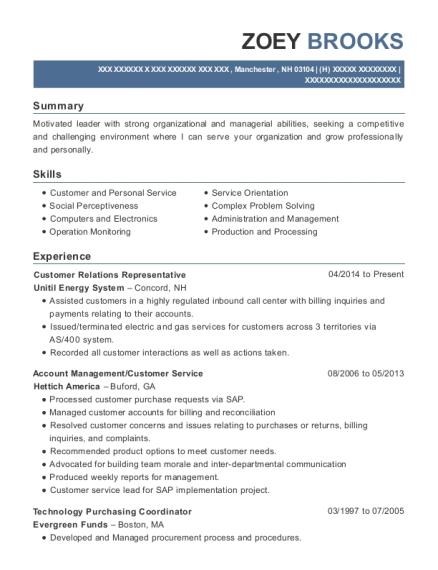 Best Technology Purchasing Coordinator Resumes | ResumeHelp
