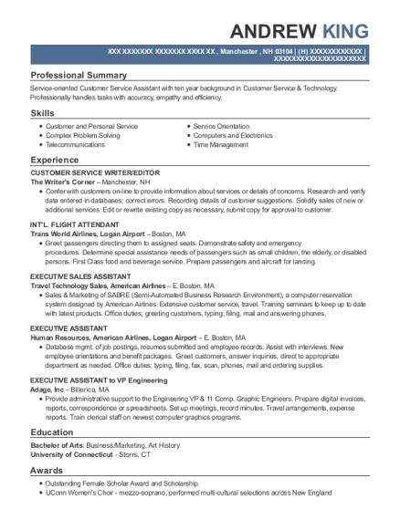 best executive assistant to vp engineering resumes resumehelp